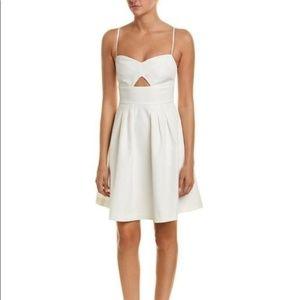 Yumi Kim White Sneak Peek A-Line Dress C1464